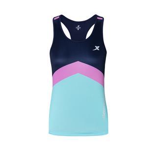 特步 专柜款 女子背心 20夏季新款跑步运动透气短袖上衣980128090301