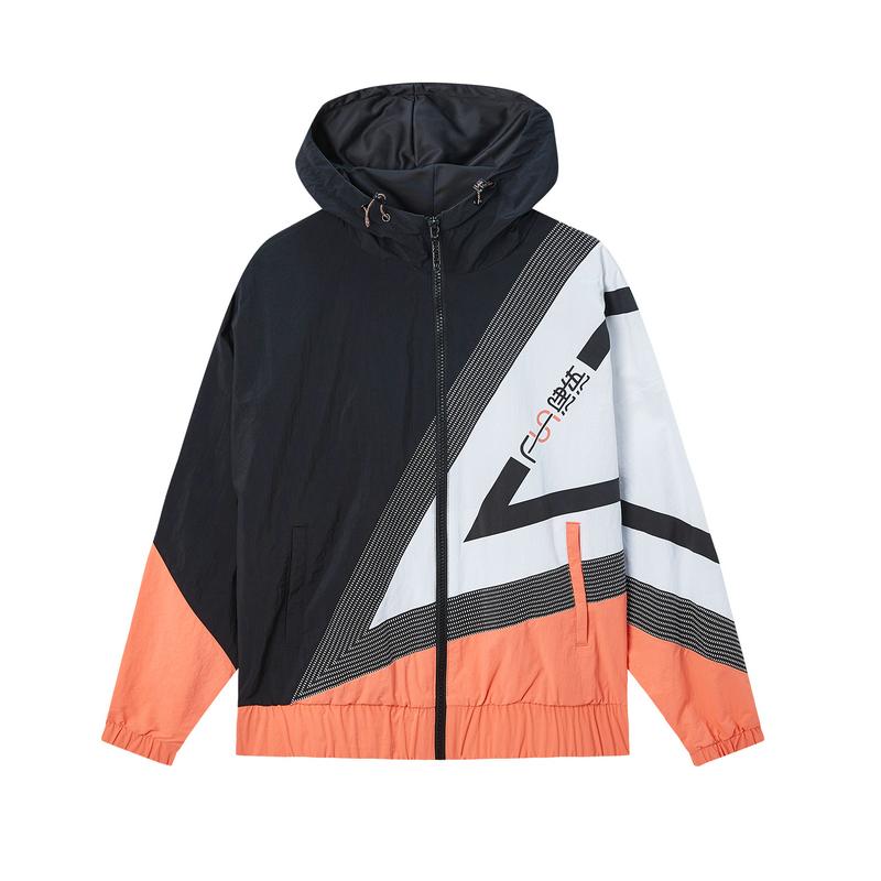 特步 专柜款 女子夹克 20春夏新款保暖外套女子时尚上衣980128130369