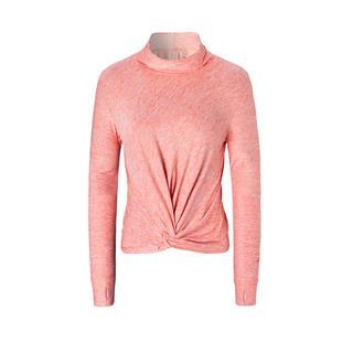 特步 专柜款 女子长袖针织衫 综训运动透气吸汗长袖980128030068