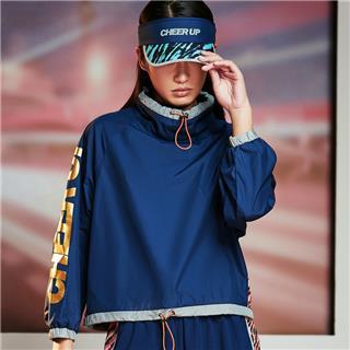 【流灵】特步 女子外套2020春夏新款梭织运动套头衫防风运动服跑步服880228140234