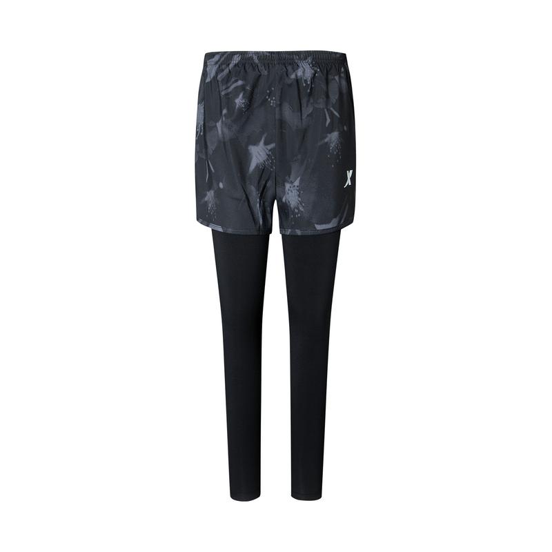 特步 专柜款 女子针织长裤 20春夏新款休闲针织运动长裤980128840306