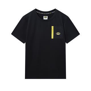 特步 专柜款 男子短袖 20春夏新款圆领运动休闲短袖针织衫980129010442