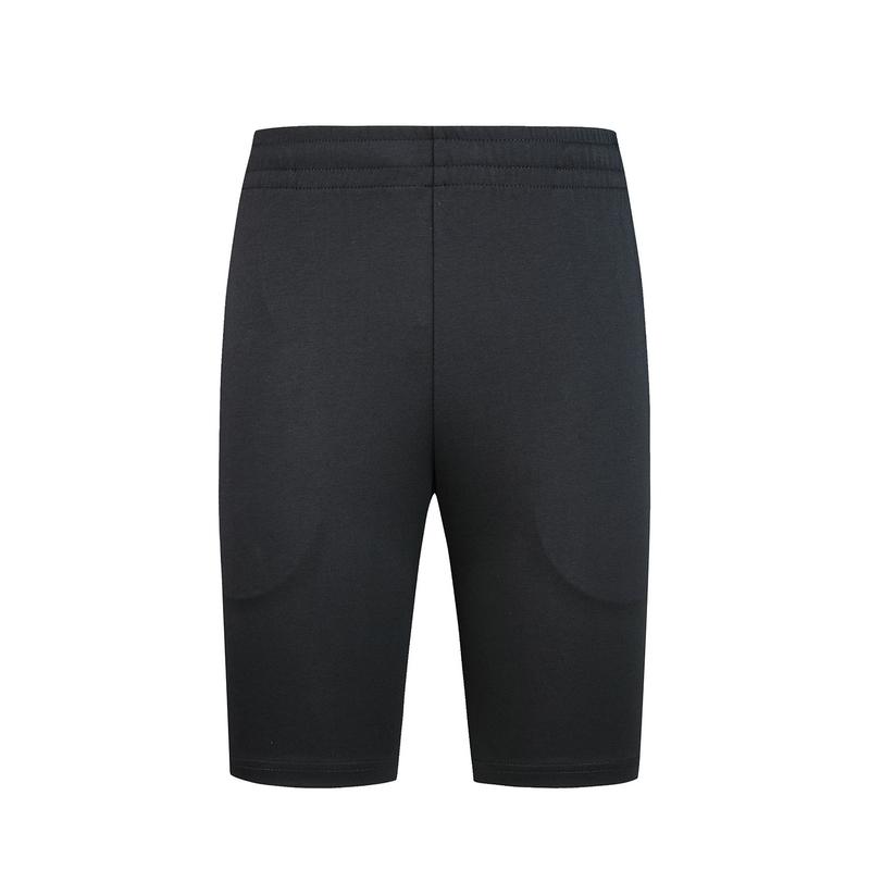 特步 男子针织中裤 20年夏新款纯色运动健身短裤880229610111
