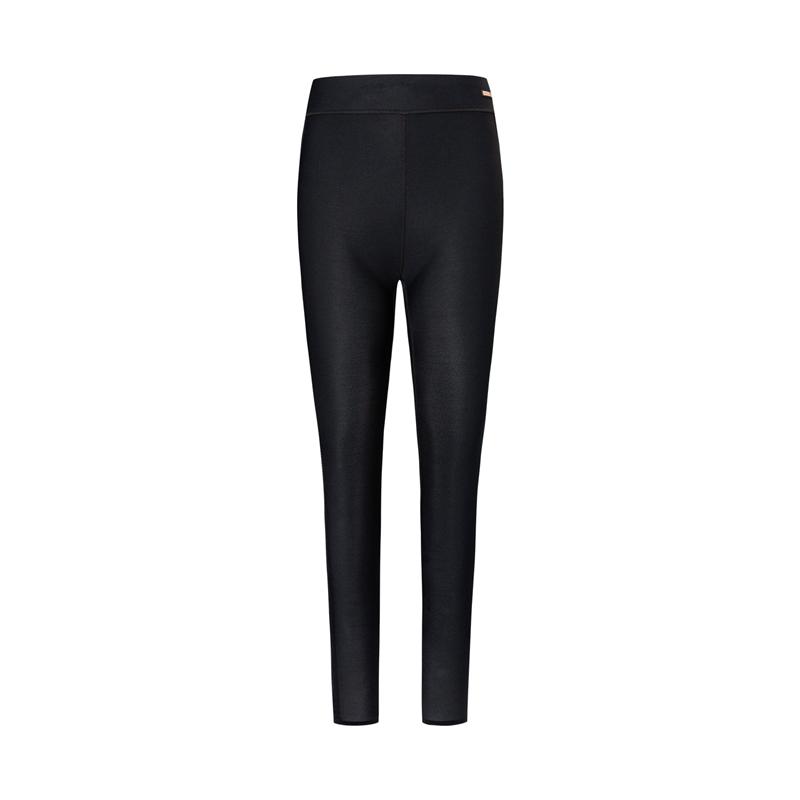 特步 专柜款 女子专业紧身裤 20年新款瑜伽健身运动裤980128580078