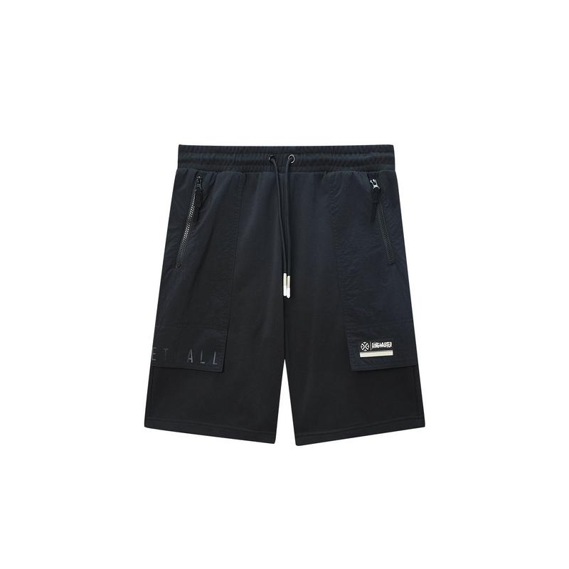 特步 专柜款 男子针织短裤 20年新款篮球运动短裤980129600430