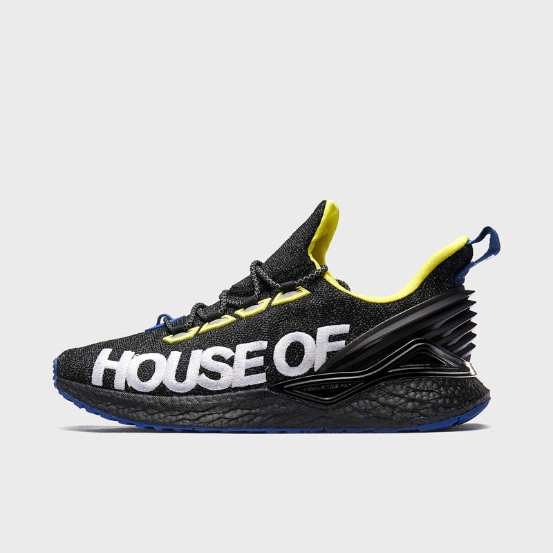 【流灵】特步 专柜款 男子跑鞋 荷兰屋联名款动力巢科技运动鞋981419110003