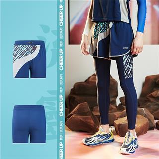 【流灵】特步 男子短裤 2020夏季新款速干跑步短裤运动裤880229670230