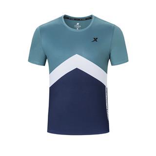 特步 专柜款 男子短袖 2020春夏季新款跑步半袖男装轻薄透气运动上衣980129010326