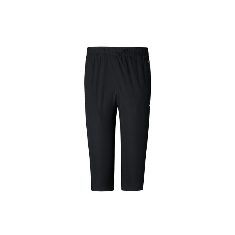 特步 专柜款 男子跑步针织七分裤 夏季舒适透气百搭短裤980229620526