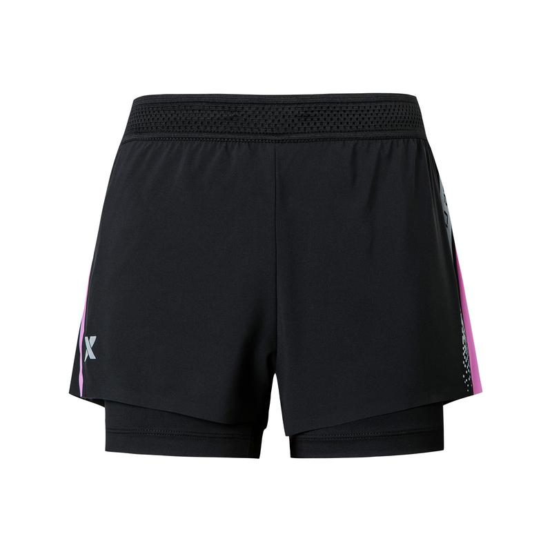 特步 专柜款 女子梭织运动短裤 20年新款运动跑步裤980128240287