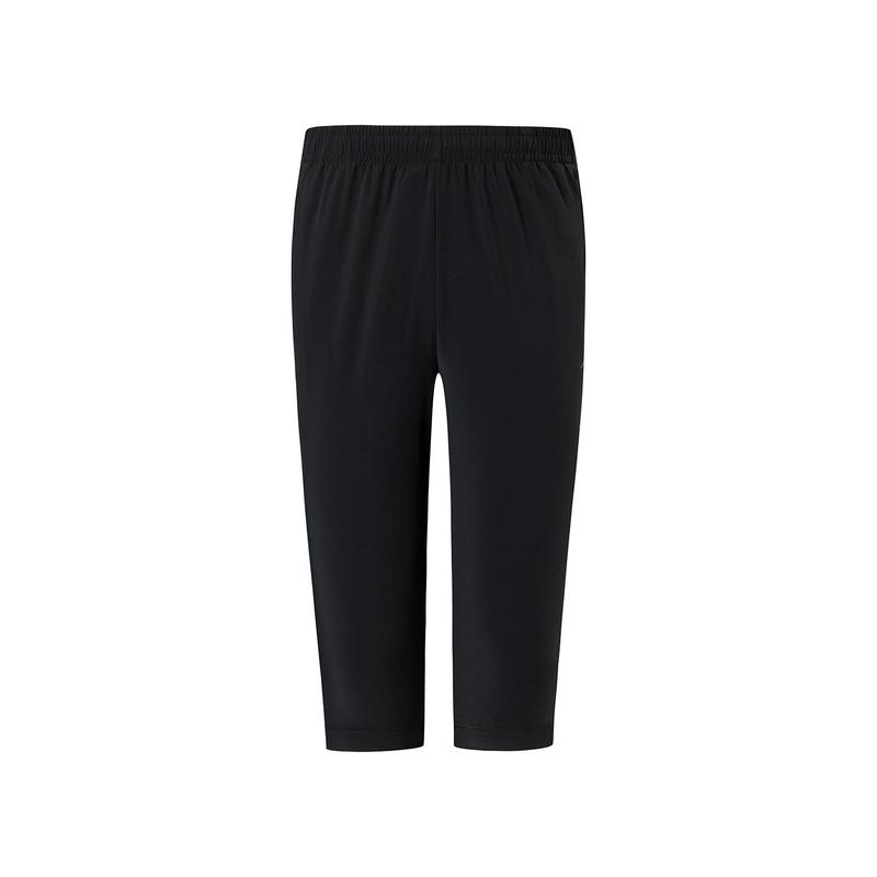 特步 专柜款 男子综训梭织运动七分裤 新款舒适透气短裤980229800126