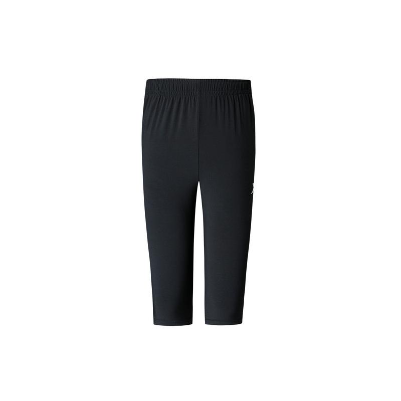 特步 专柜款 男子跑步梭织七分裤 夏季舒适透气百搭短裤980229800350