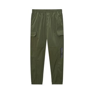 特步 专柜款 男子休闲长裤 20年新款街头口袋收口裤980129560168