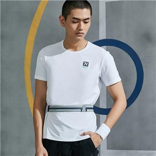 特步 男子综训运动短袖 夏季新款舒适透气百搭简约短T880229010106