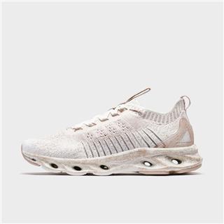 【减震旋科技】特步 专柜款 女子跑鞋 20年夏新款网面一体式袜套运动鞋980218110616