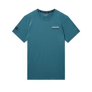 特步 专柜款 男子都市休闲针织衫短袖 潮流时尚百搭休闲T恤980229010151