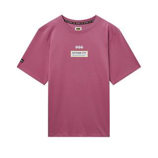 【蝙蝠侠联名款】特步 专柜款 男子潮流时尚休闲百搭街头短袖针织衫980229010290