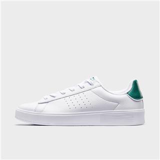 特步 专柜款 男子板鞋 20年新款革面休闲小白鞋980219316375