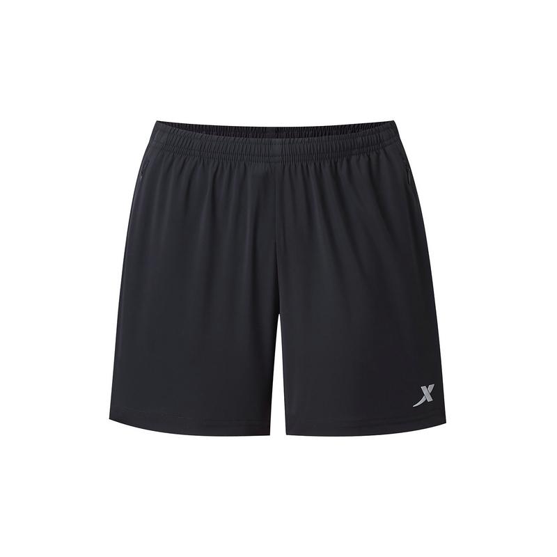 特步 专柜款 女子梭织短裤 夏新款运动跑步女裤980228240296