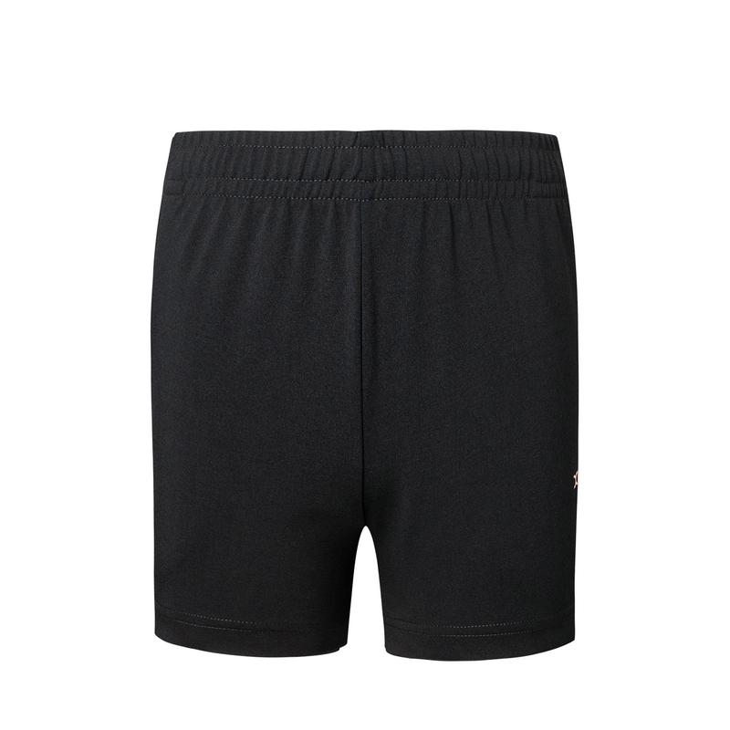 特步 专柜款 女子针织短裤 夏新款健身舒适运动裤980228600428