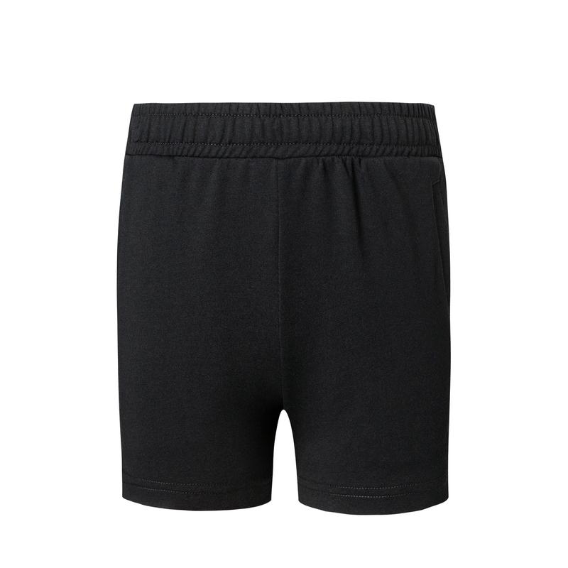 特步 专柜款 女子针织短裤 夏新款侧边字母印花运动裤980228600429