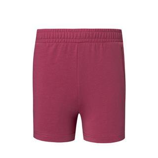 特步 专柜款 女子针织短裤 20年夏新款侧边字母印花运动裤980228600429