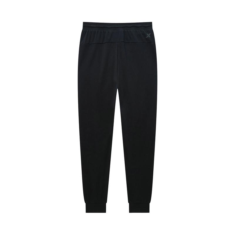 特步 专柜款 男子长裤 针织印花20年新款运动休闲裤980229630141