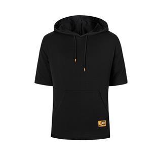特步 专柜款 男子短袖 20年新款连帽口袋运动短袖980229010070