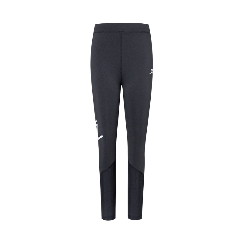 特步 女子紧身裤 新款舒适专业运动裤880128890132