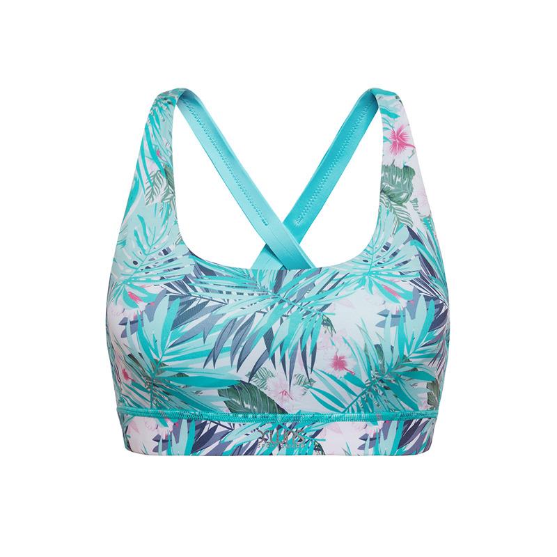 特步 女子胸衣运动专业透气舒适上衣新款880128930123