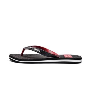 特步 男子人字拖鞋 20年夏新款舒适透气轻便沙滩鞋运动拖鞋880239800035