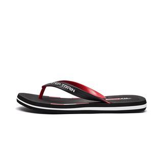 特步 男子人字拖鞋 20年夏新款舒适轻便舒适沙滩鞋880139800083