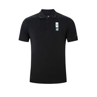 特步 专柜款 男子短袖 综训运动透气吸汗立领polo衫980229020081