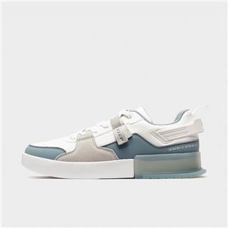 特步 男子板鞋 20年新款撞色潮流休闲鞋880219310061