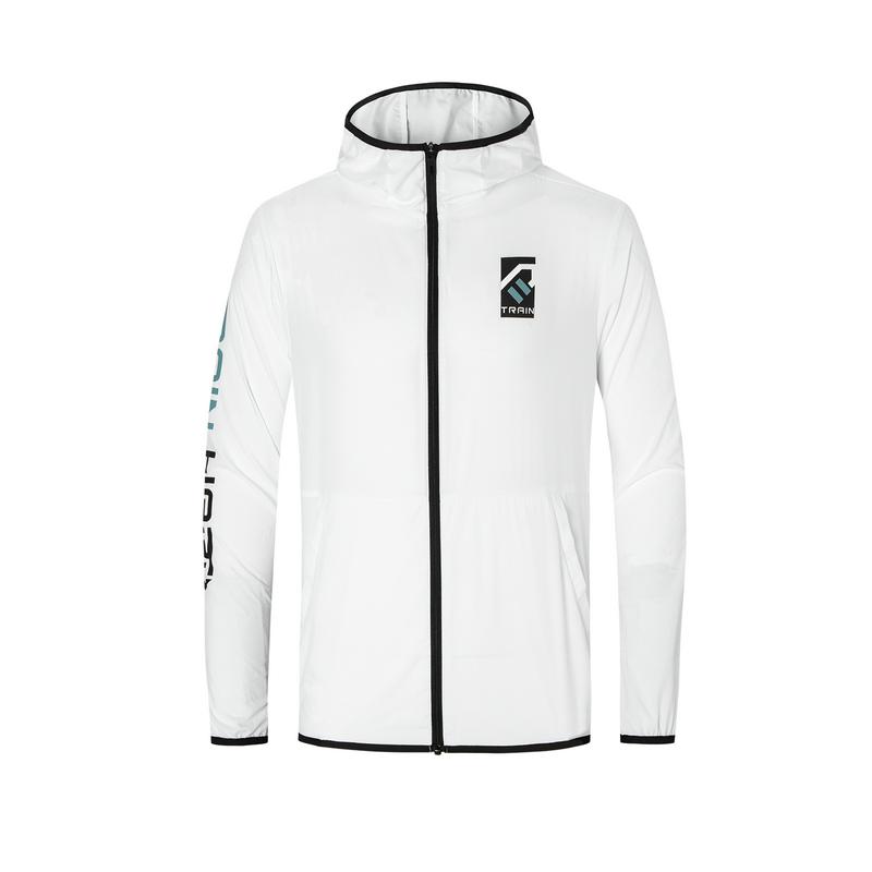 专柜款 男子单风衣 新款综训运动舒适透气风衣980229140084