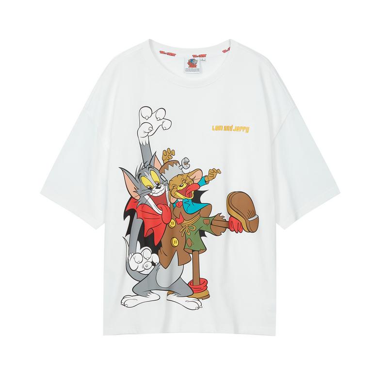 男子短袖 新款男女同款猫和老鼠联名T恤880227010220
