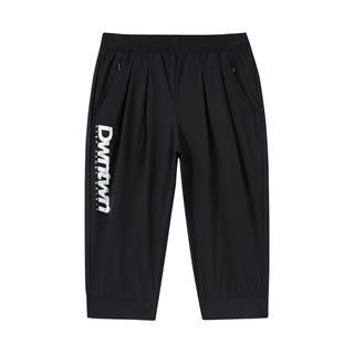 特步 专柜款 女子七分裤 新款都市潮流时尚针织七分裤980228620180