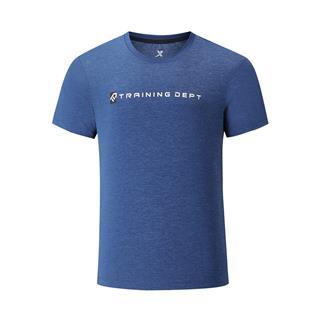 特步 专柜款 男子短袖 夏季舒适透气百搭运动综训T恤980229010122