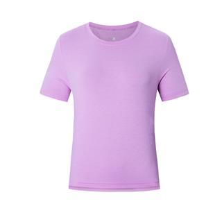 【景甜同款】特步 专柜款 女子短袖 20夏季新款运动休闲时尚上衣短袖针织衫980228010511