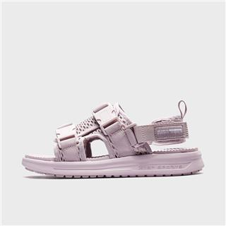 特步 女子凉鞋 20年新款时尚简约魔术贴沙滩鞋880218500088