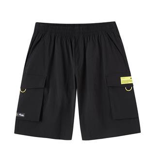 【蝙蝠侠联名款】特步 专柜款 男子短裤 20年新款休闲透气五分裤980229990281