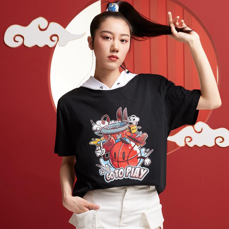 【攻城记系列】特步 男女短袖 新款福州定制款情侣款T恤880227010309