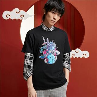 【攻城记系列】特步 男女短袖 新款上海定制款情侣款T恤880227010309
