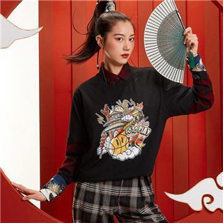 【攻城记系列】特步 男女短袖 新款北京定制款情侣款T恤880227010309