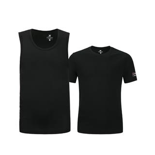 特步 男子短袖 20年新款2件套运动篮球衣T恤880229010264