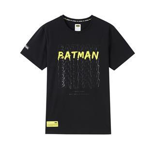 【蝙蝠侠联名款】特步 专柜款 男子短袖 新款街头潮流时尚T恤980229010282