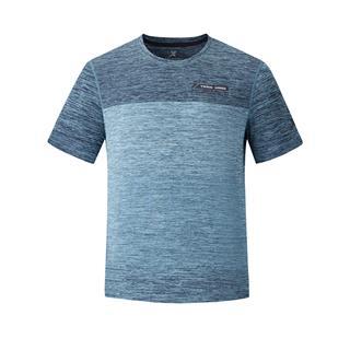 特步 专柜款 男子短袖 新款舒适透气综训运动T恤980229010471