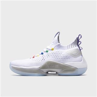 特步 专柜款 男子篮球鞋 20年新款网面透气运动鞋980219121285