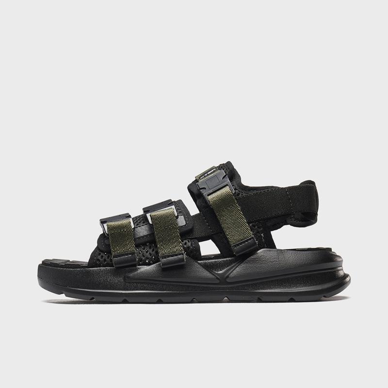 特步 专柜款 男子凉鞋 新款透气户外沙滩鞋980219393078