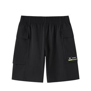 特步 专柜款 男子短裤 都市休闲时尚百搭大口袋五分裤980229990368